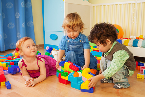 Children will learn and play at our daycare facilities.